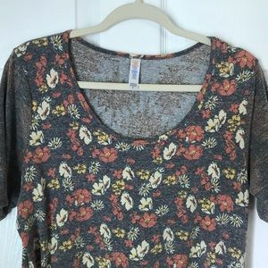 LuLaRoe Perfect T w/Back Design